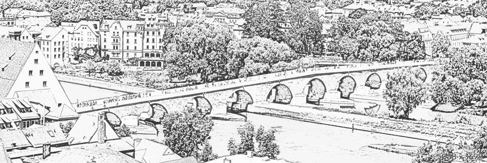 Steinerne Brücke - Regensburg :: Verbindungen schaffen ...